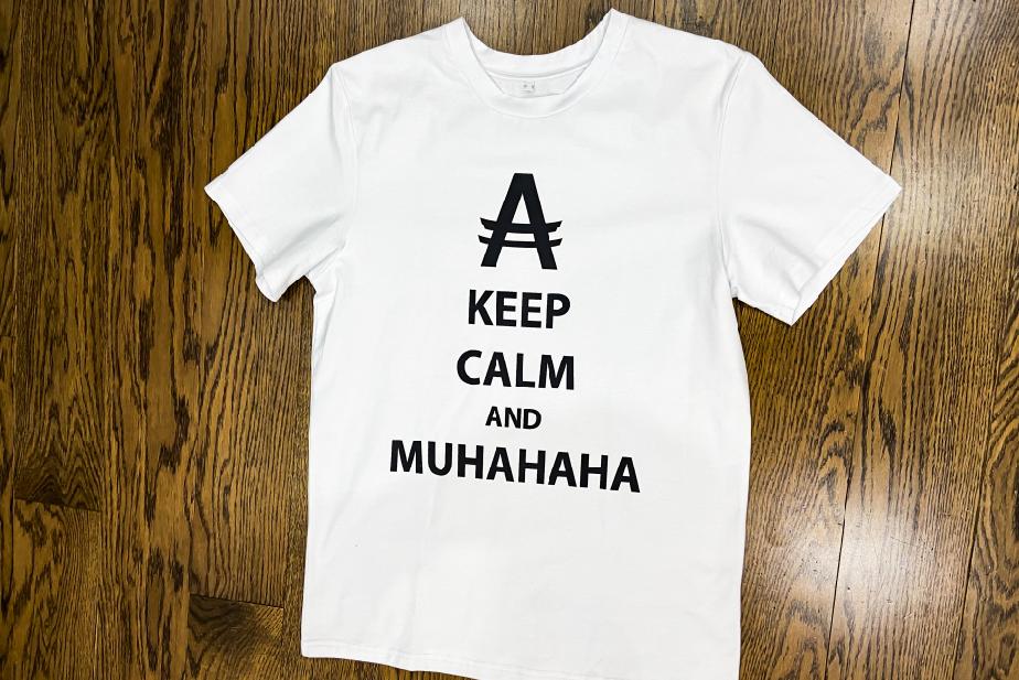 Muhahaha t-shirt ))